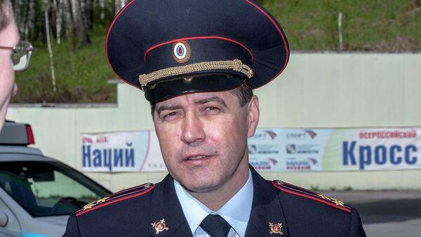 Начальник УГИБДД по Новосибирской области Сергей Штельмах
