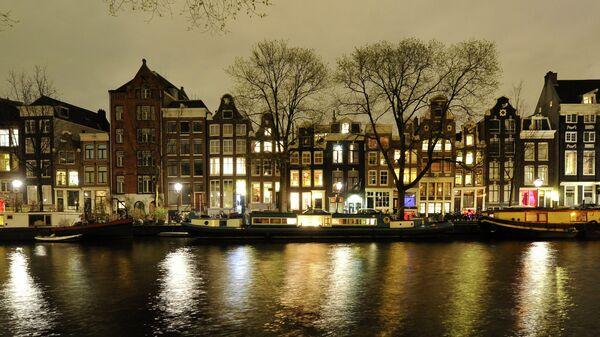 Зарубежные страны. Нидерланды. Амстердам. Архивное фото