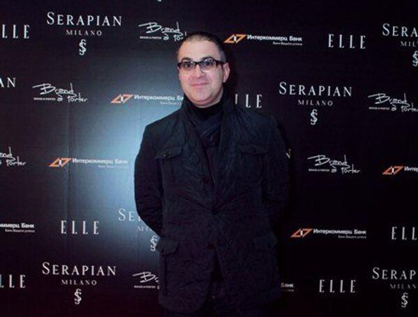 Гарик Мартиросян на открытии бутика миланского бренда Serapian в Москве