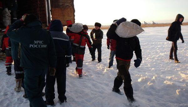 Доставка продовольствия в отдаленные районы Якутии. Архивное фото