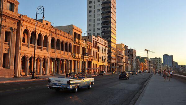 Центральная Гавана и набережная Malecon. Архивное фото