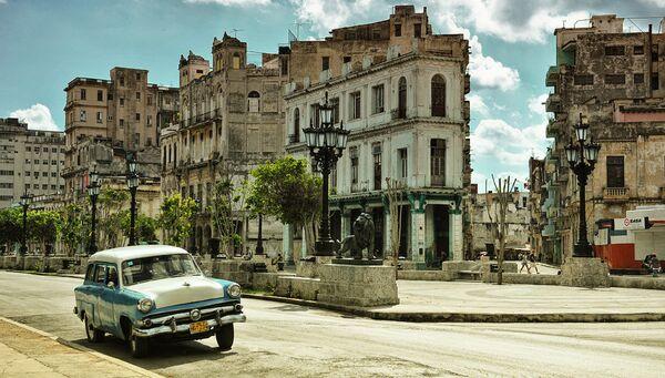 Улица Avenida del Prado в Гаване. Архивное фото