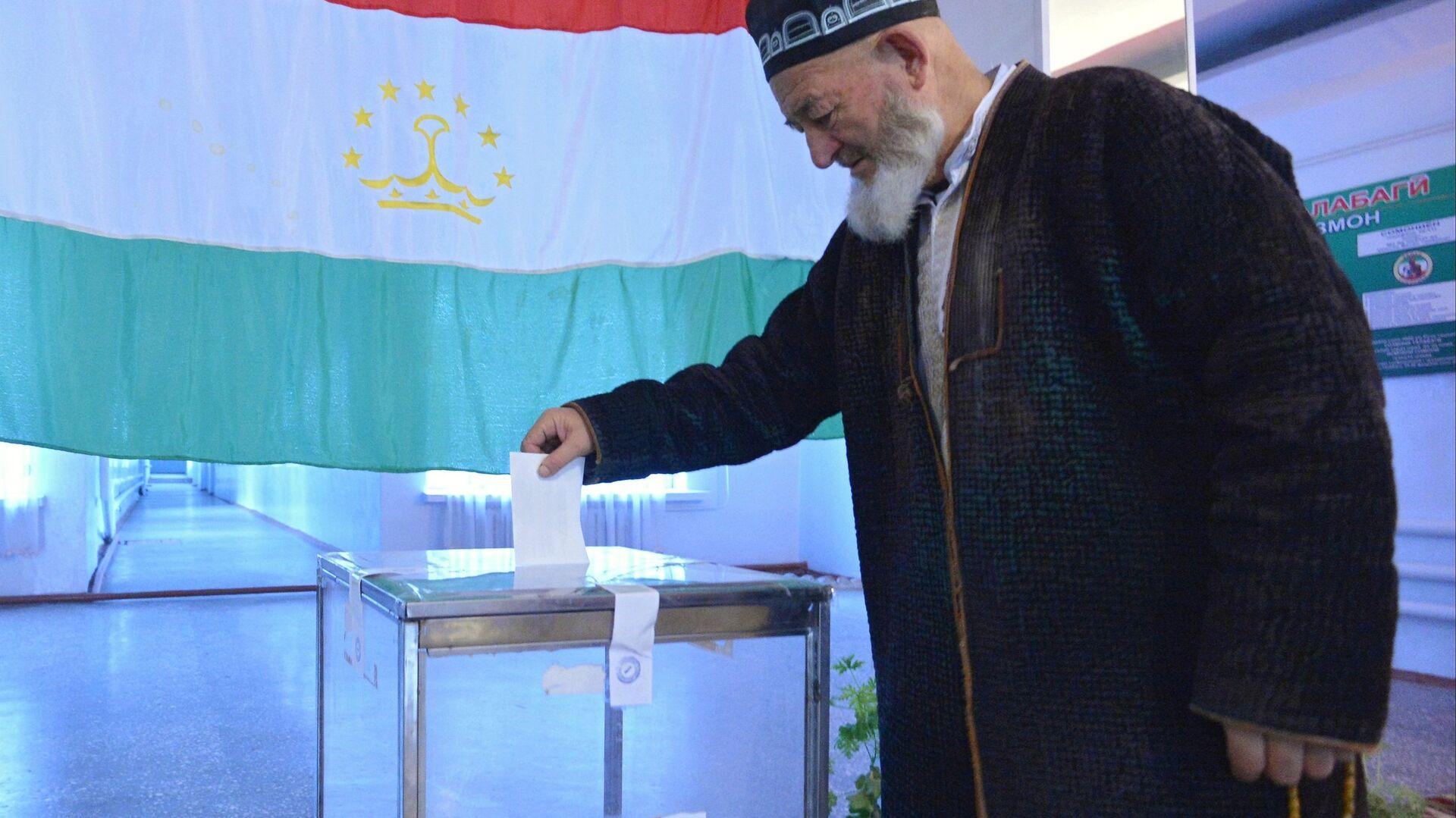 Выборы президента Таджикистана - РИА Новости, 1920, 11.10.2020