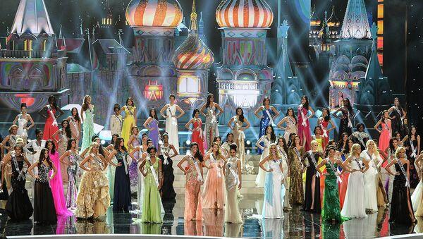 Полуфинал конкурса Мисс Вселенная – 2013. Архивное фото
