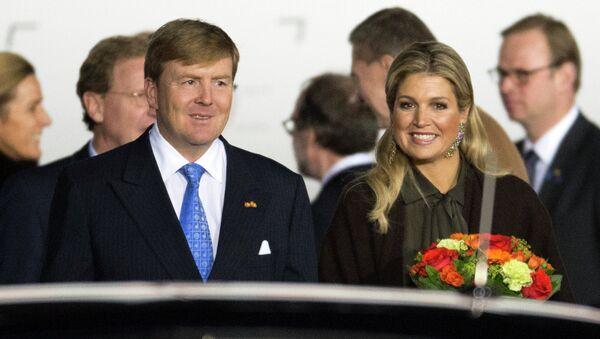 Король Нидерландов Виллем-Александр и королева Максима. Архивное фото