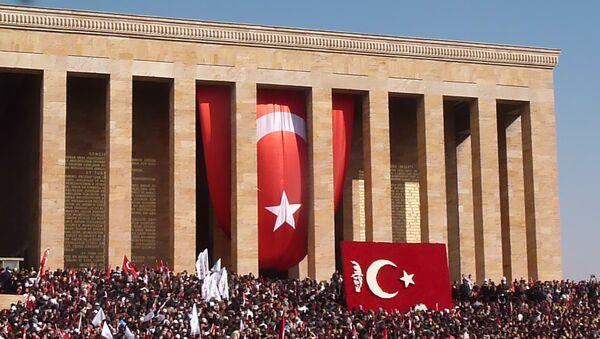 Турецкий народ вспоминает Ататюрка в день 75-ой годовщины его смерти