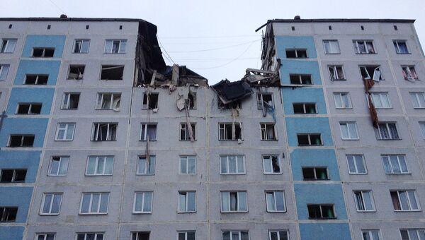 Взрыв бытового газа в Сергиево-Посадском муниципальном районе Московской области. Архивное фото