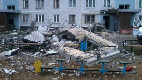 Взрыв бытового газа в Сергиево-Посадском муниципальном районе Московской области
