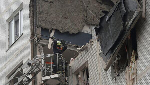 Взрыв газа произошел в девятиэтажке в Подмосковье