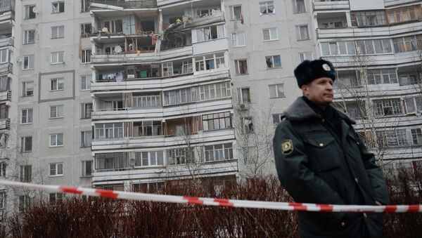 Дом в Загорских Далях, где произошел взрыв газа