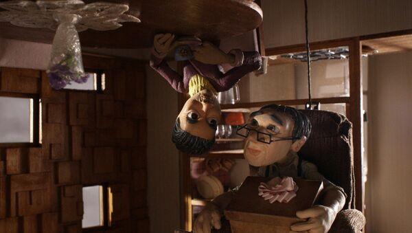 Кадр из мультфильма Вверх тормашками