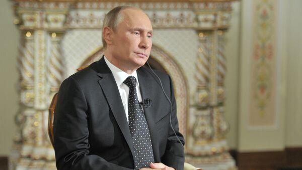 В.Путин дал интервью южнокорейской телерадиокомпании KBS. Архивное фото