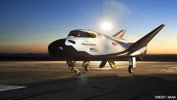 Мини-шаттл Dream Chaser, созданный компанией Sierra Nevada - один из кандидатов в будущие частные пилотируемые корабли. Архивное фото