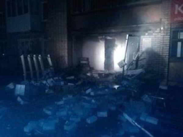Взрыв в магазине в Пермском крае. Фото с места событий