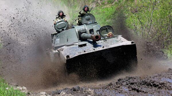 Самоходная артиллерийская установка Гвоздика