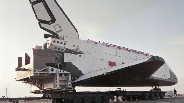 Орбитальный корабль многоразового использования Буран. Архивное фото