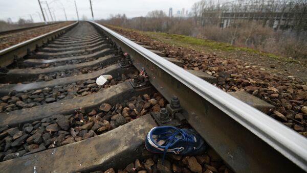 Железнодорожный перегон между станциями Покровское-Стрешнево и Тушино