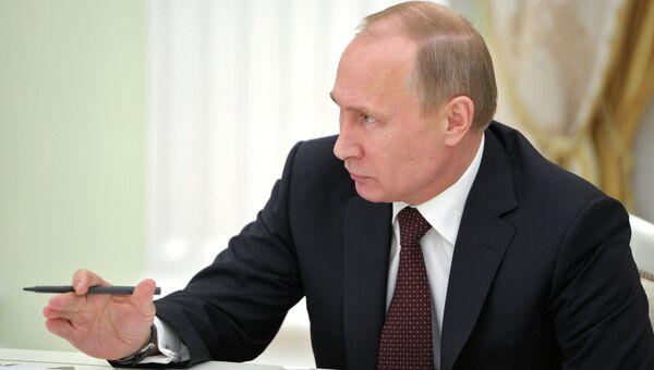 В.Путин встретился с руководителями непарламентских партий. Фото с места события