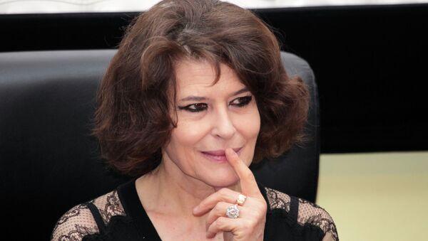 Французская киноактриса Фанни Ардан. Архивное фото