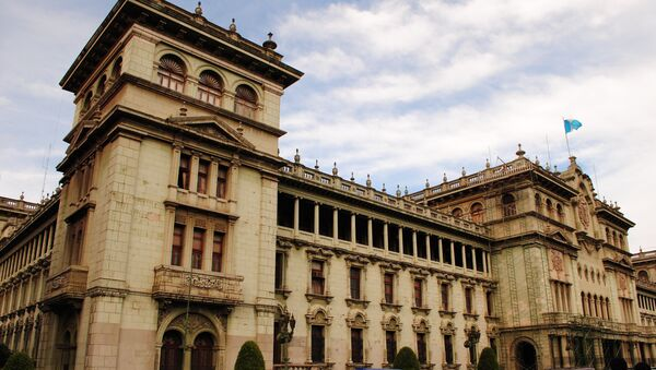 Президентский дворец в Гватемале, архивное фото