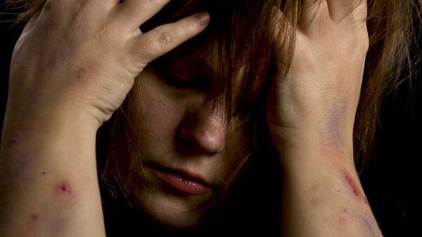 Домашнее насилие, архивное фото