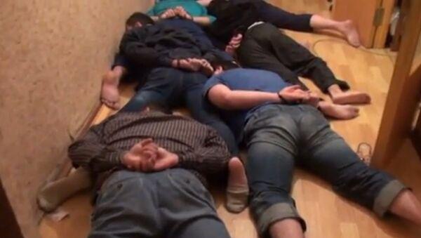 Задержание участников экстремистской организации Ат Такфир валь-Хиджра в Москве