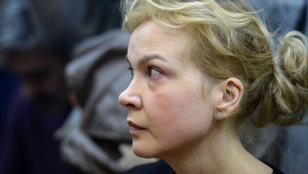 Бывший шеф-редактор Ура.ру Аксана Панова. Архивное фото