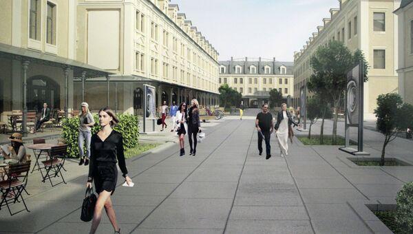 Проект преобразования Апраксина двора в Петербурге