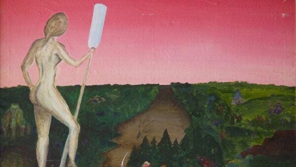 Экспонат выставки Бориса Гребенщикова Внутренние свойства пейзажа
