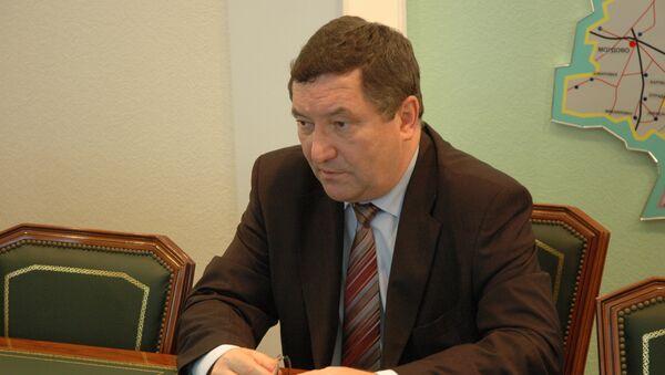 Замминистра строительства Олег Бетин. Архивное фото
