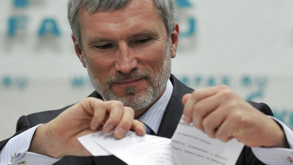 Депутат Госдумы РФ, председатель партии Родина Алексей Журавлев, архивное фото