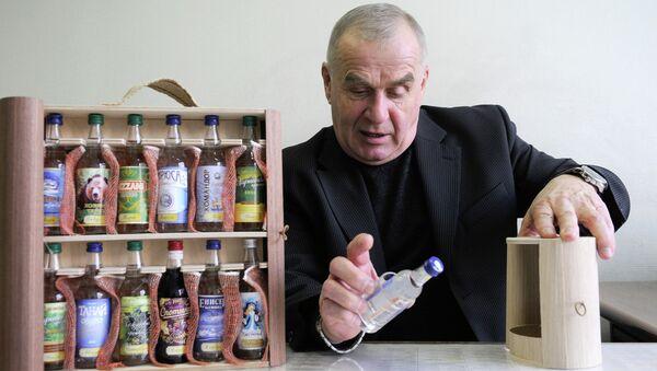 Председатель Енисейской алкогольной ассоциации, советник губернатора Красноярского края Валерий Анохин, событийное фото