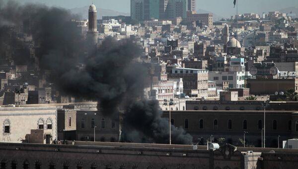 Взрыв у Минобороны в Йемене