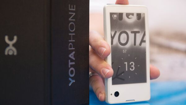 Yota Phone, архивное фото