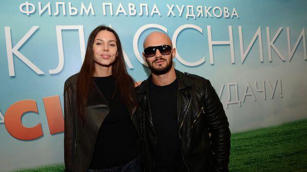 Рэпер Джиган с супругой Оксаной Самойловой