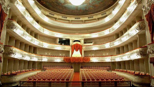 Зал Михайловского театра. Архивное фото