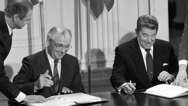 Визит Генерального секретаря ЦК КПСС Михаила Сергеевича Горбачева в США