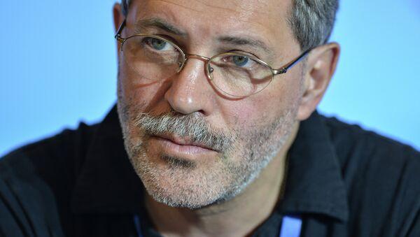 Журналист и политолог, главный редактор журнала Однако Михаил Леонтьев. Архивное фото