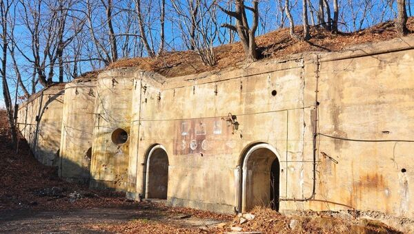 Форт №1 Владивостокской крепости. Архивное фото