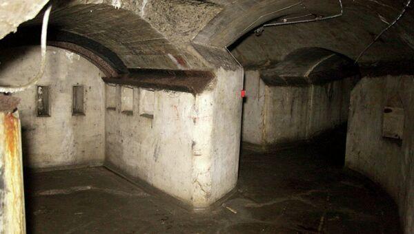 Следы хищения металлоконструкций в форте№1 Владивостокской крепости