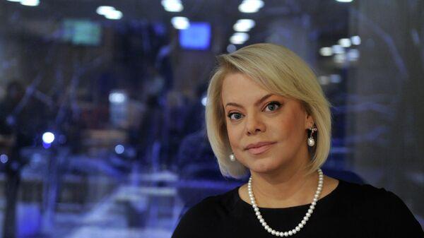 Телеведущая, актриса Яна Поплавская на церемонии награждения лауреатов премии Новая Интеллигенция