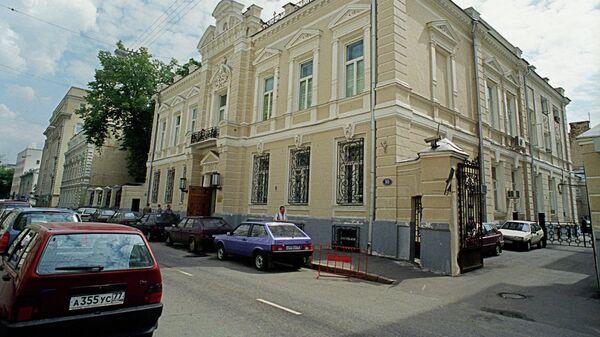 Здание Совинформбюро в Леонтьевском переулке