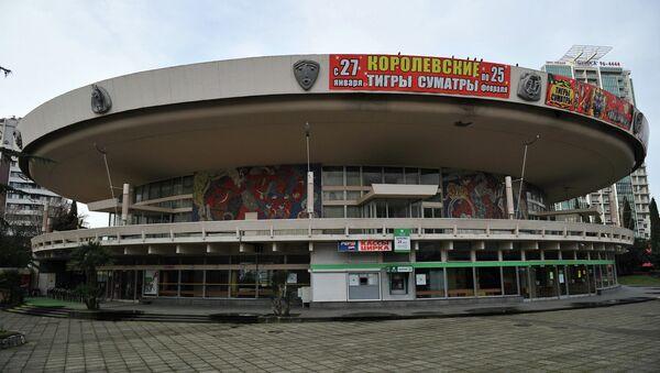 Здание Сочинского государственного цирка. Архивное фото