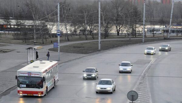 Улицы Красноярска, архивное фото