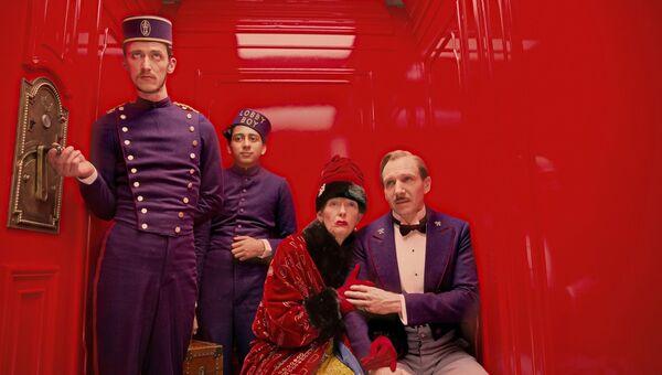 Кадр из фильма Отель Гранд Будапешт