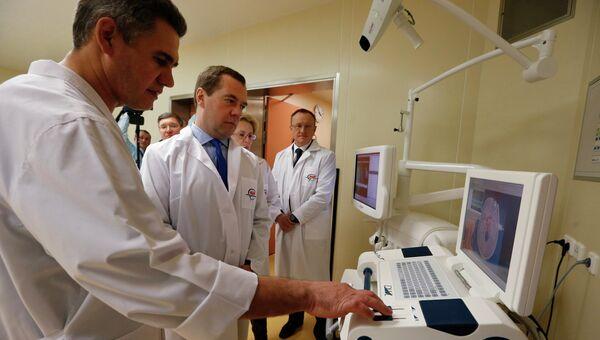 Рабочая поездка Д.Медведева в Уральский федеральный округ. Архивное фото