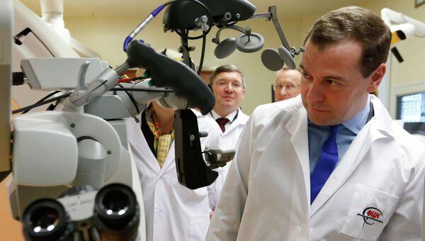 Рабочая поездка Д.Медведева в Уральский федеральный округ, фото с места события