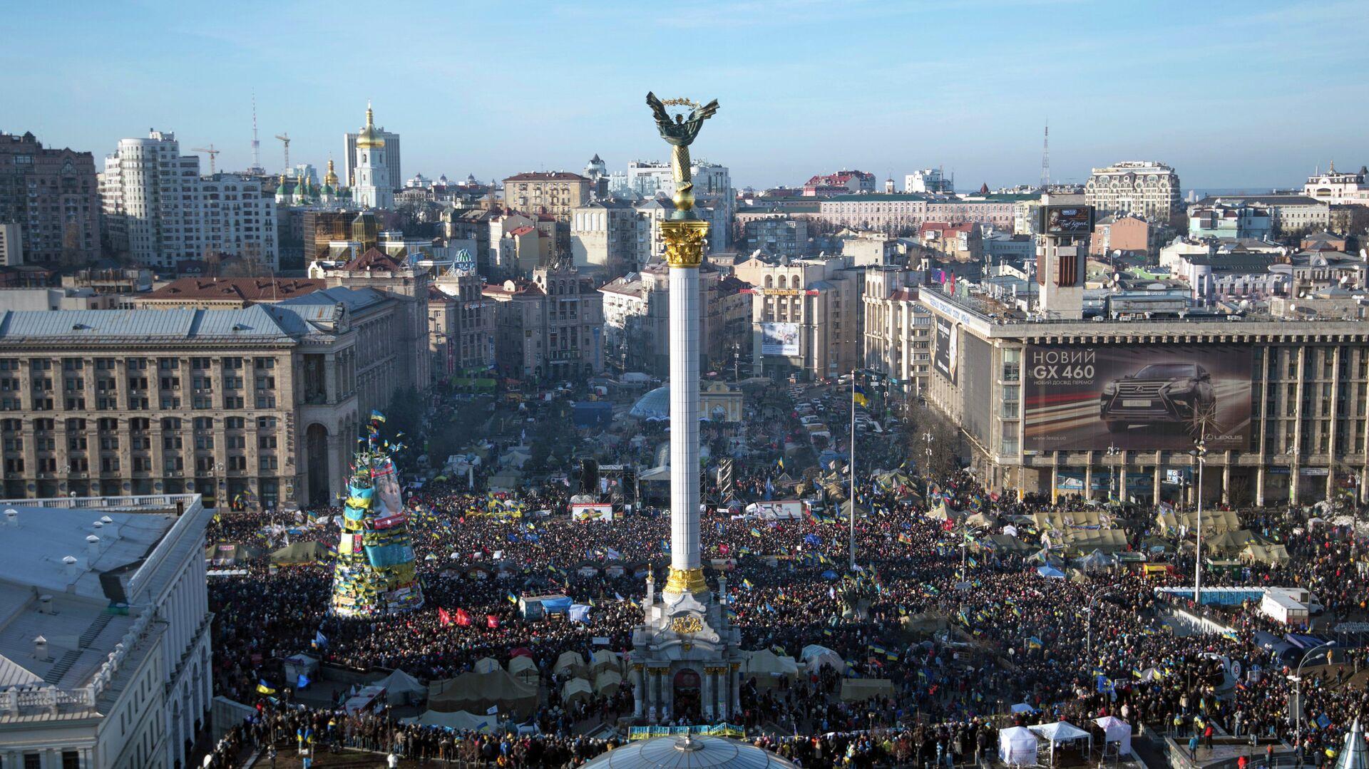 Народное вече на площади Независимости в Киеве - РИА Новости, 1920, 12.06.2021