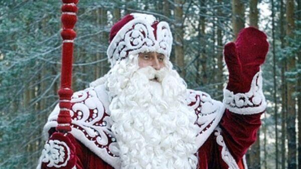 Дед мороз-полицейский