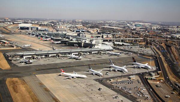 Международный аэропорт Йоханнесбурга. Архивное фото.